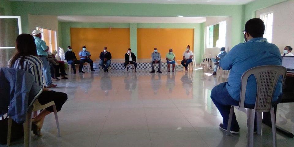 Reunión con técnicos del PNUD