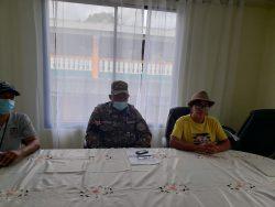 Foto Danilsa Cuevas, Pascual Olivero y Wilkin Reyes.